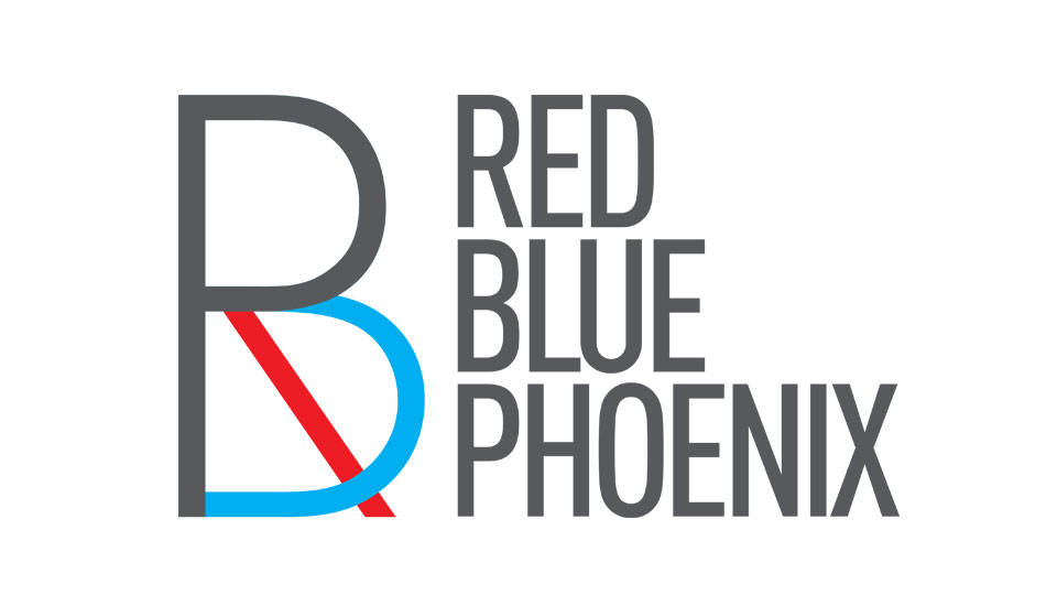 Logo Design for Red Blue Phoenix