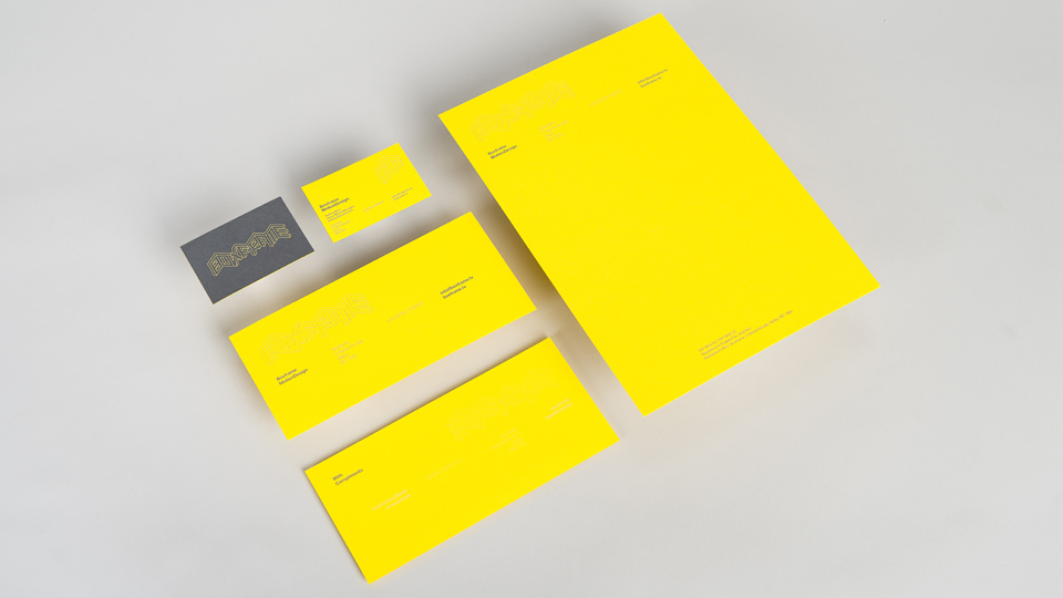 Stationery Design for Boxframe