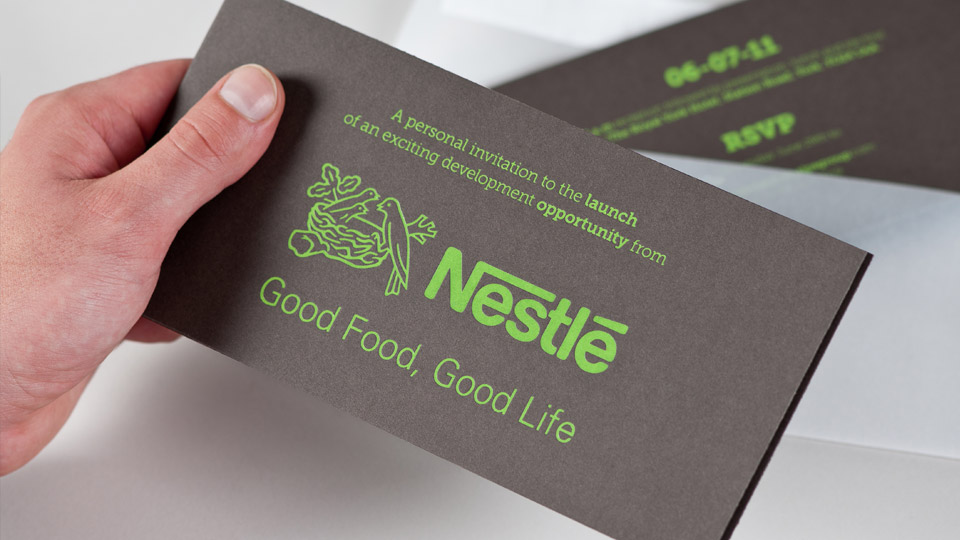 Brochure Design For The Nestle Site The Cocoa Works