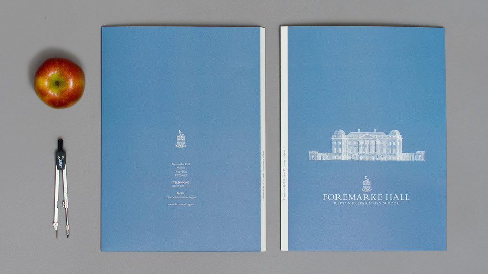 Folder Design for Foremarke Prep School