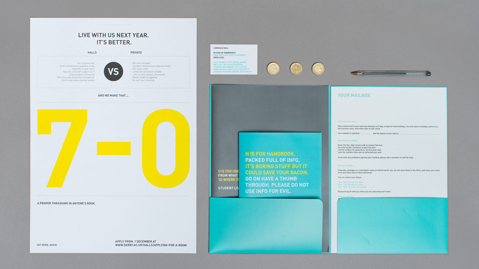 Brand Design for the University of Derby