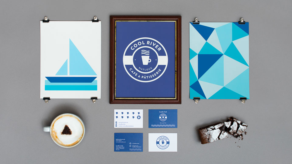Branding Design for Cool River Cafe