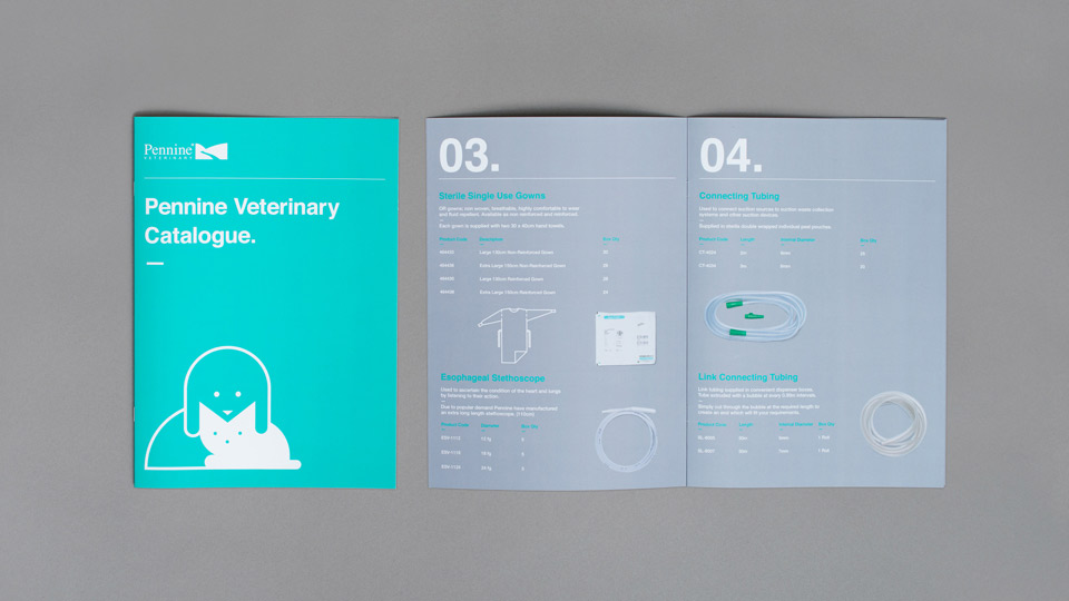 Brochure Design for Pennine Healthcare