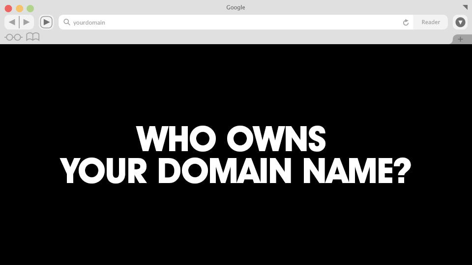 Who Owns Your Domain Name